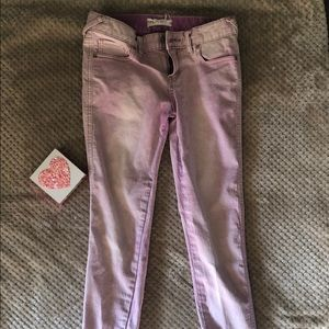Lavender Free People Jeans